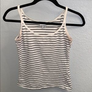 H&M striped tank